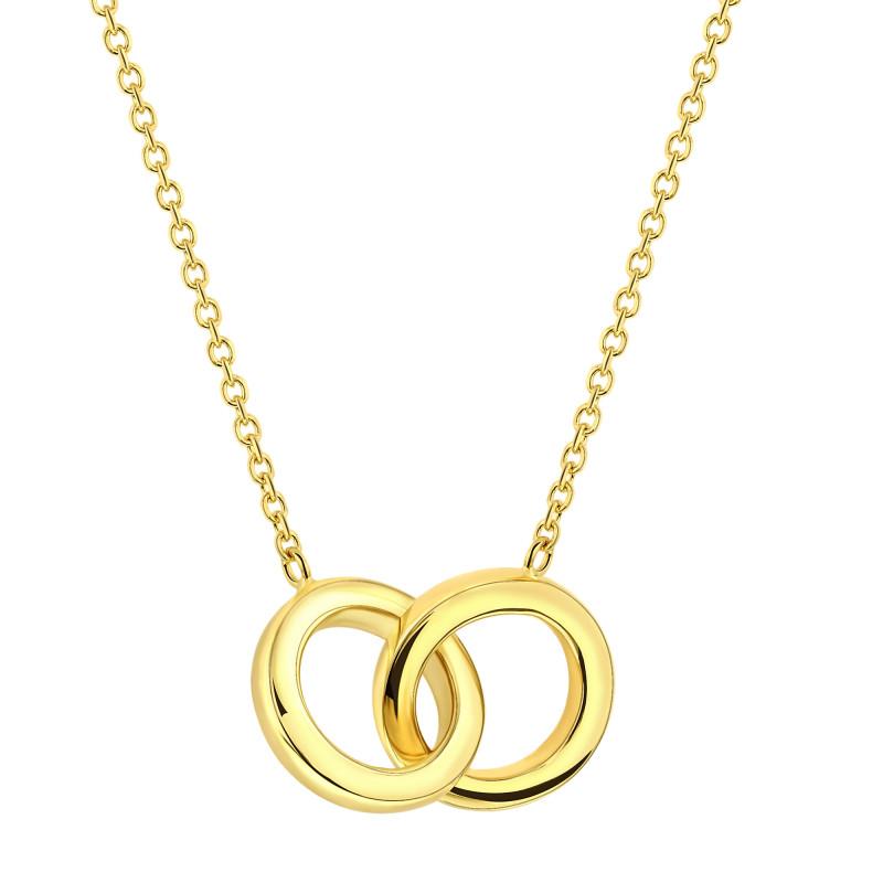 Gouden collier 07.F451-45Y