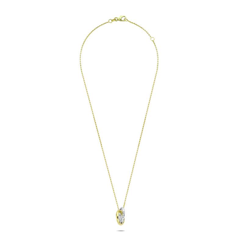 Gouden collier met hanger 116023464502