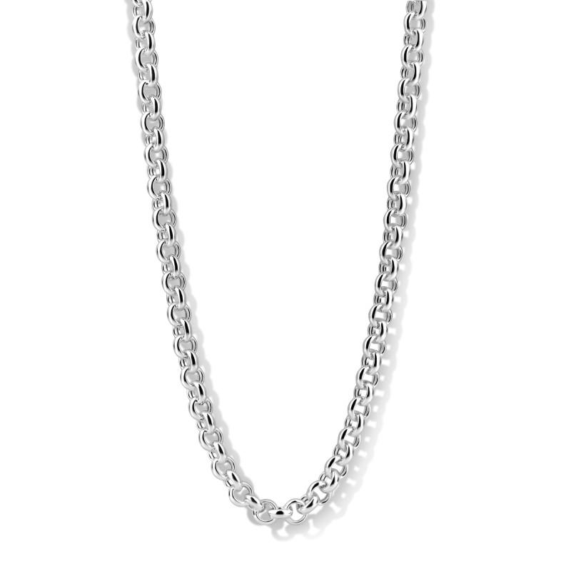 Zilver jasseron collier 102.0886