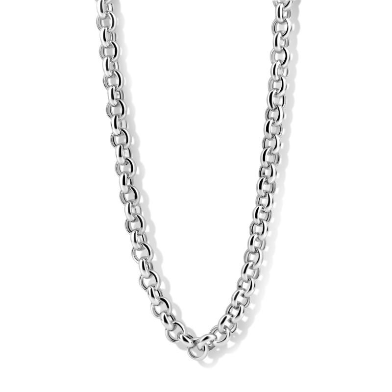 Zilver jasseron collier 102.0887