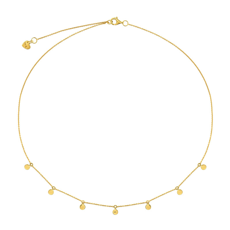 Goldplated collier 09.135.35