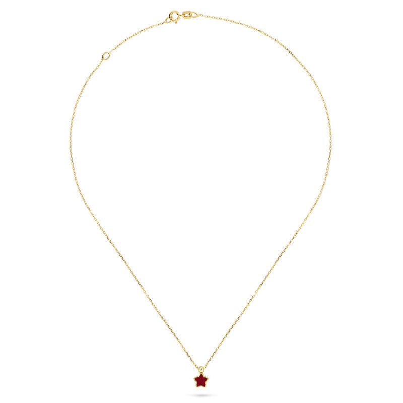 Geelgoud collier 8915