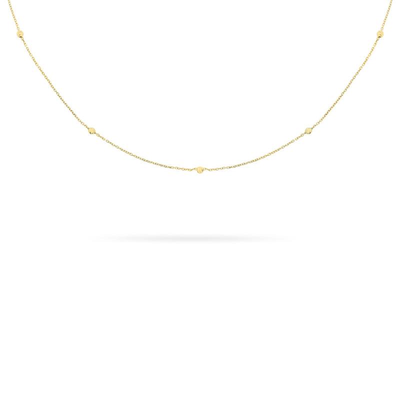 Geelgouden collier FG083-316