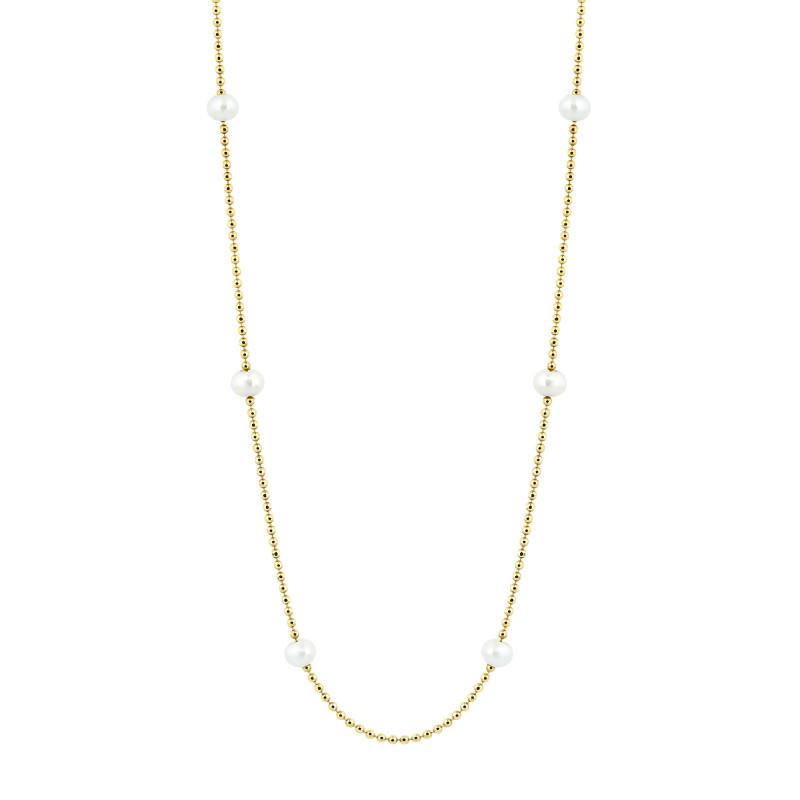 Geelgouden collier FG387-093GR