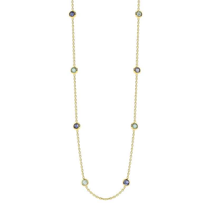 Geelgouden collier FG417-144
