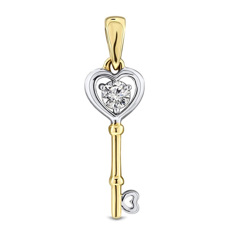 Geelgouden sleutel 59854-Z-Y