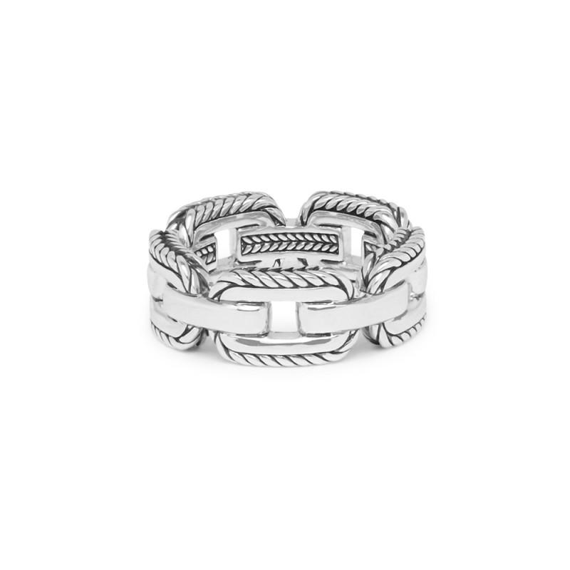 Zilveren ring Barbara Link 118