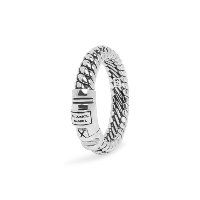 Zilveren ring Ben XS Lock 613