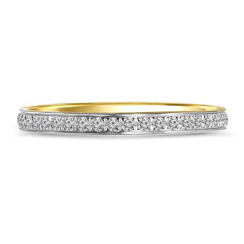 Geelgouden ring met diamant 54562R001