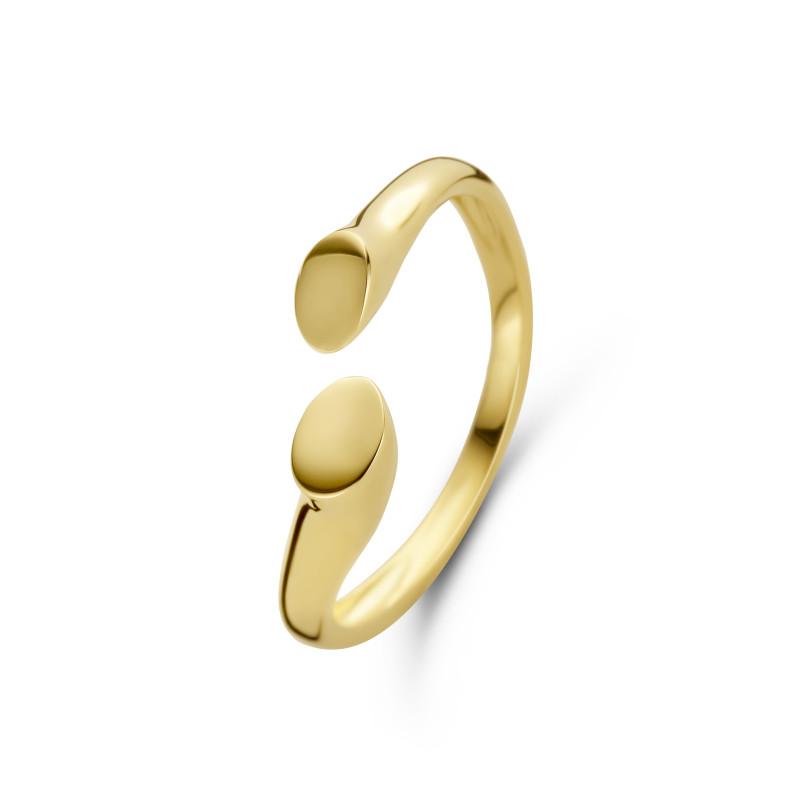 Geelgouden ring 6507
