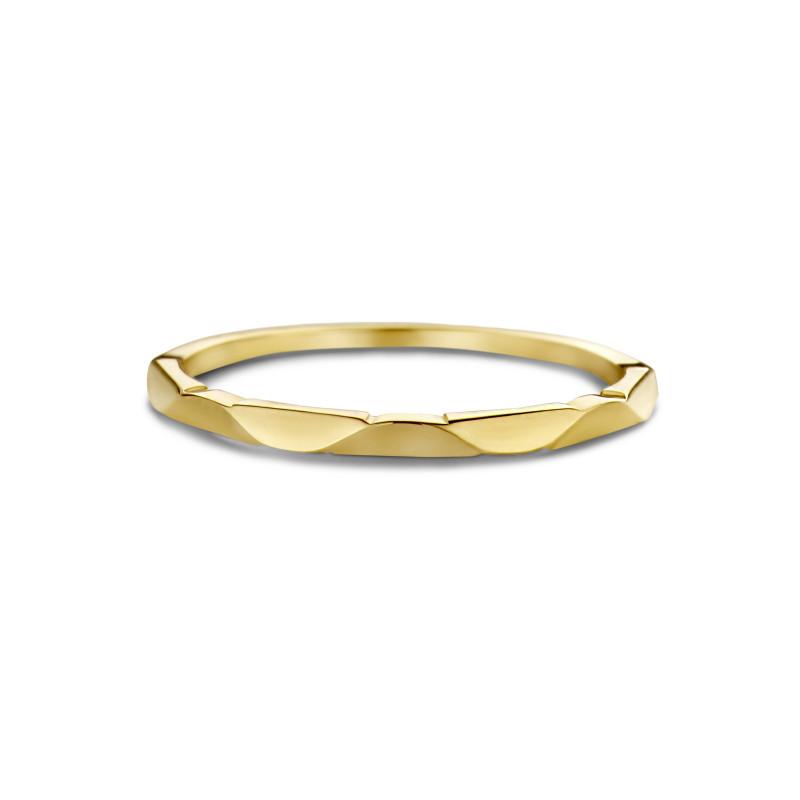 Geelgouden ring 6555