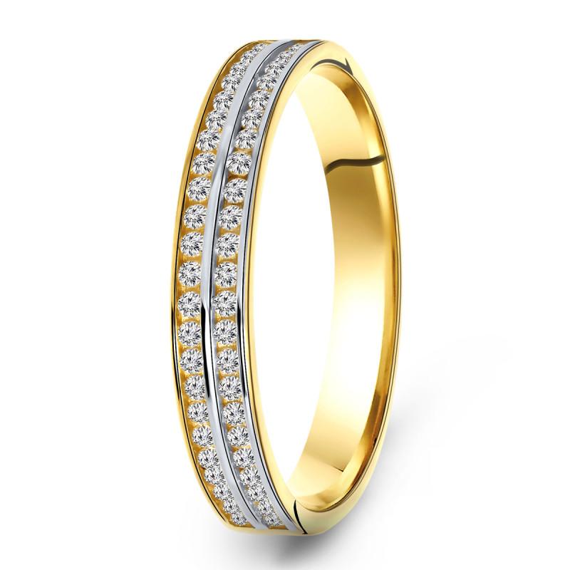 Gouden ring VX8ZR200165-Y