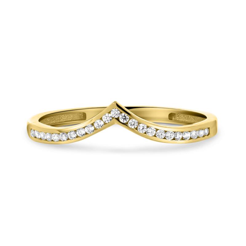 Geelgouden ring X9ZR0160-Y