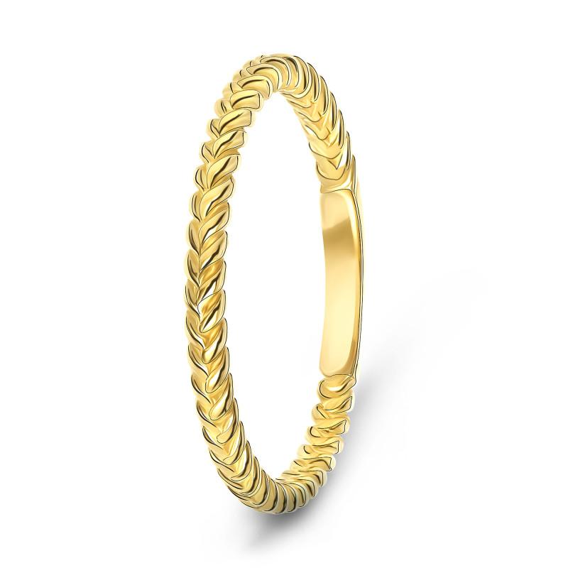Geelgouden ring XAR6000-Y