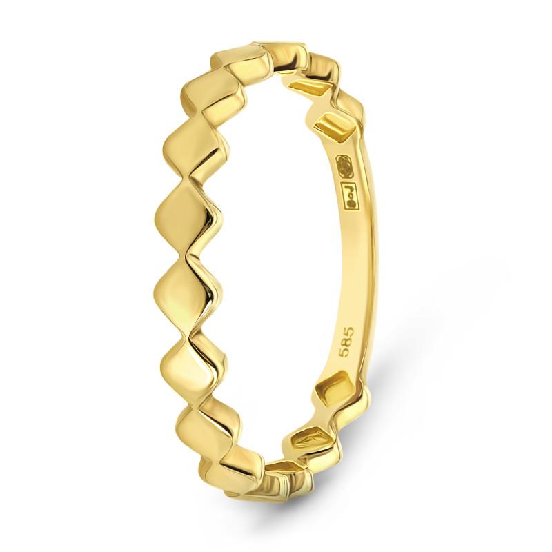 Geelgouden ring XXAR6364