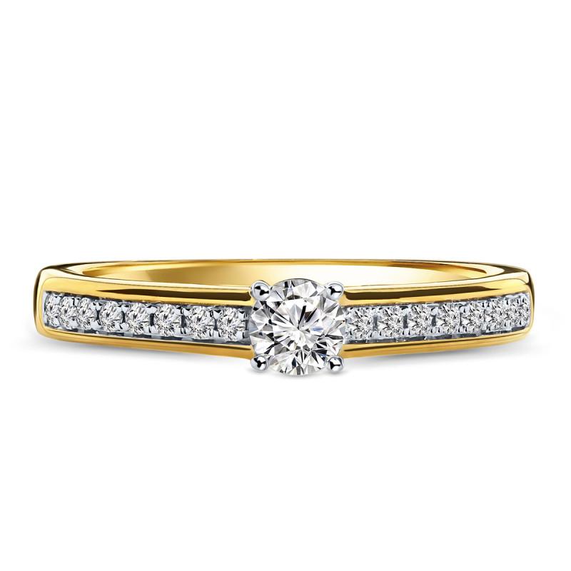 Geelgouden diamant ring 198XA3250DR-RH