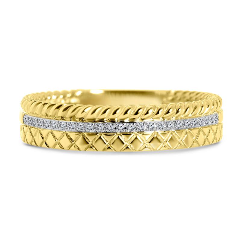 Geelgouden ring met diamant GH56002ASD-Y
