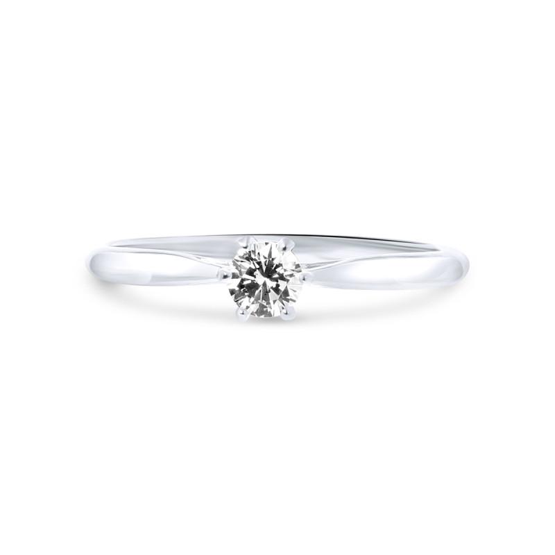 Witgouden ring met zirkonia R01-SW-59297-Z