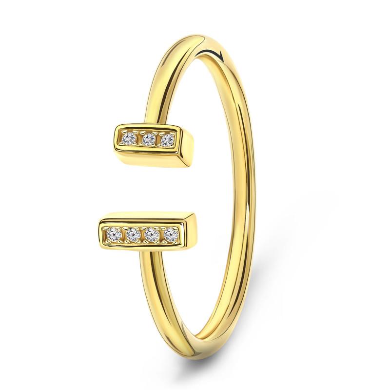 Geelgouden ring 02.CA506.54.01
