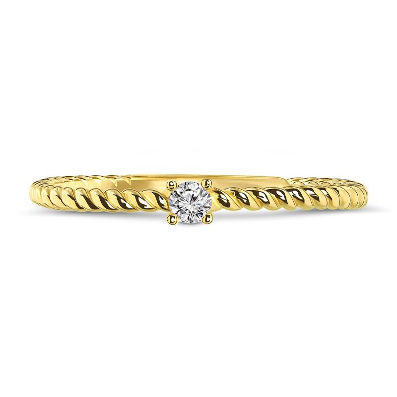 Geelgouden ring 02CA606