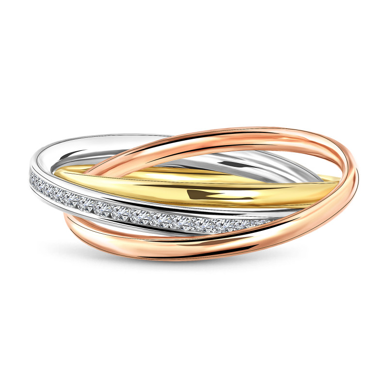 Tricolor ring 193.761.155.403