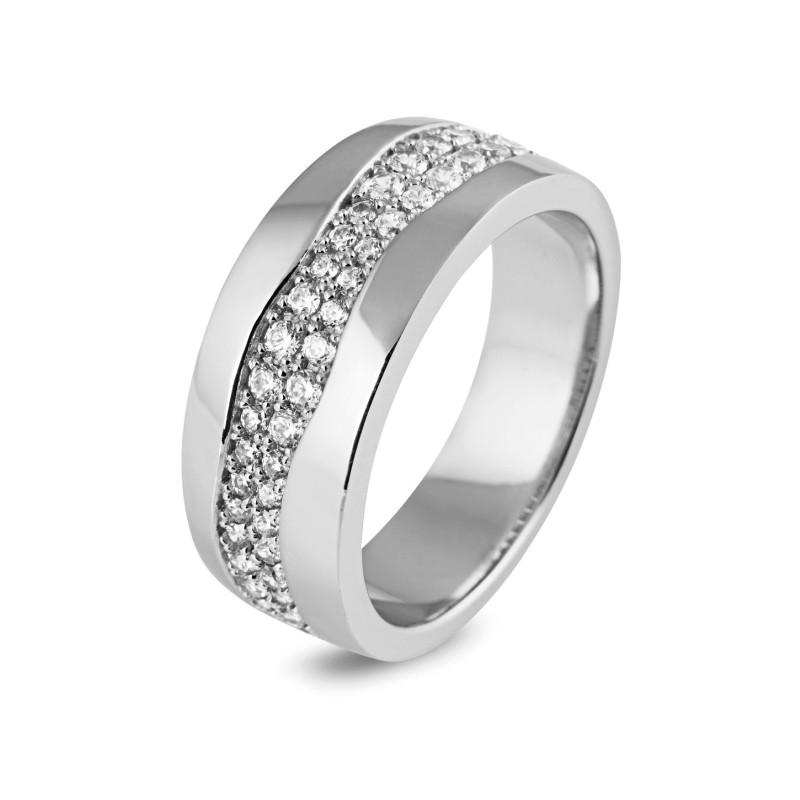 Zilveren damesring met zirkonia 54406R002B