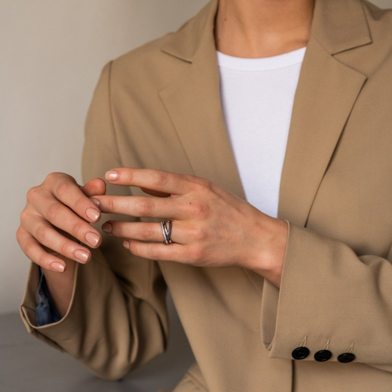 Zilveren ring 12022ZI