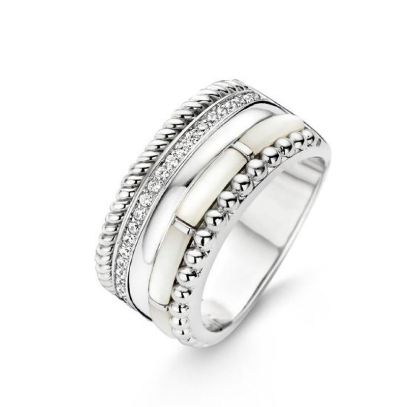 Zilveren ring 12038MW