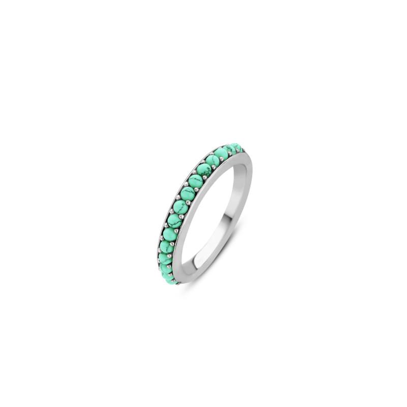 Zilveren ring 12123TQ