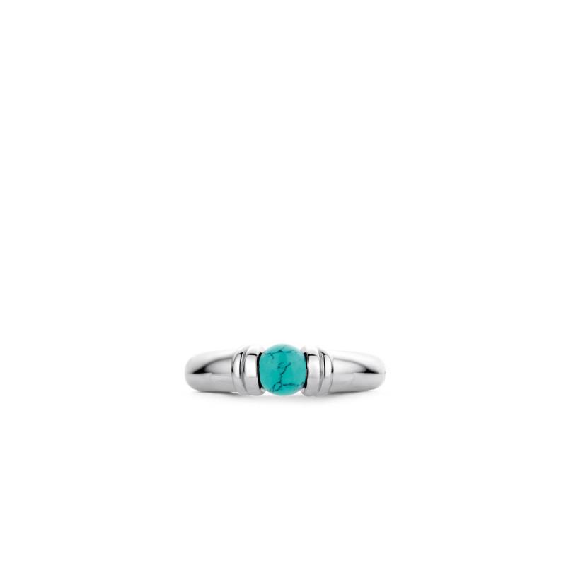 Zilveren ring 12152TQ