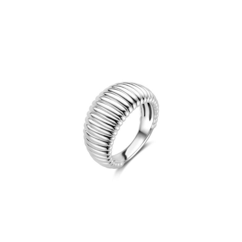 Zilveren ring 12217SI