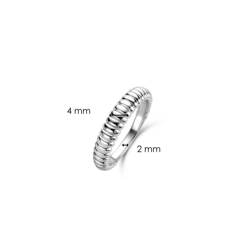 Zilveren ring 12218SI