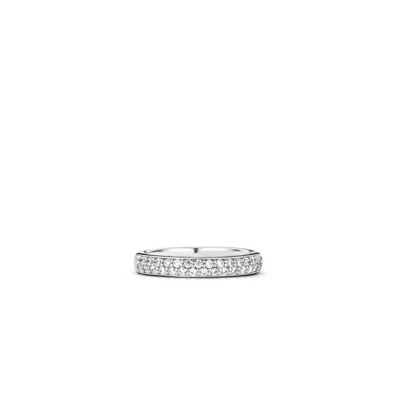 Zilveren ring met zirkonia 1414ZI