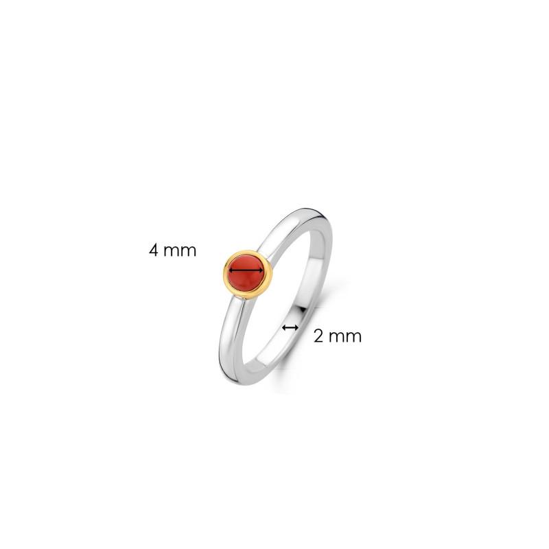 Zilveren ring 1868CR