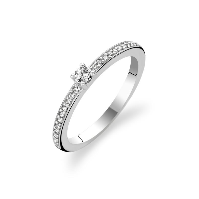 Zilveren ring met zirkonia 1869ZI