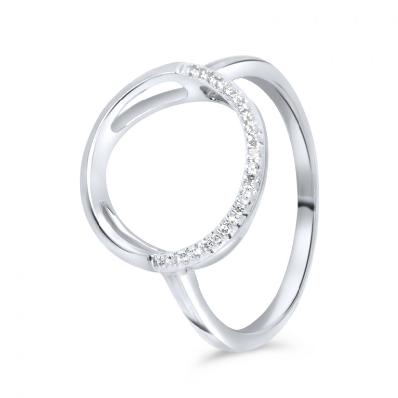 Witgouden diamant ring IGR-33618-W