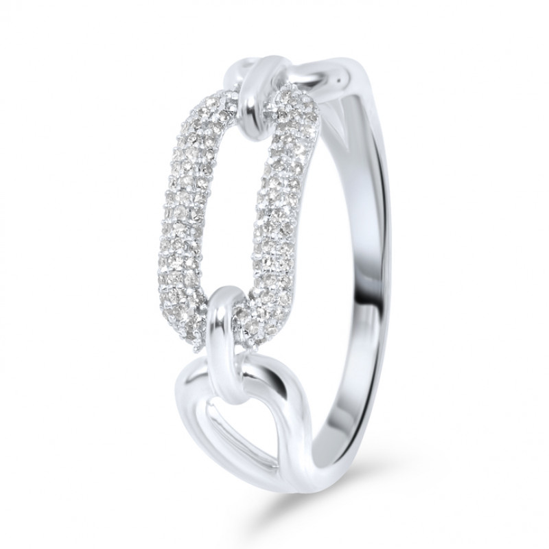 Witgouden diamant ring IGR-33627-W