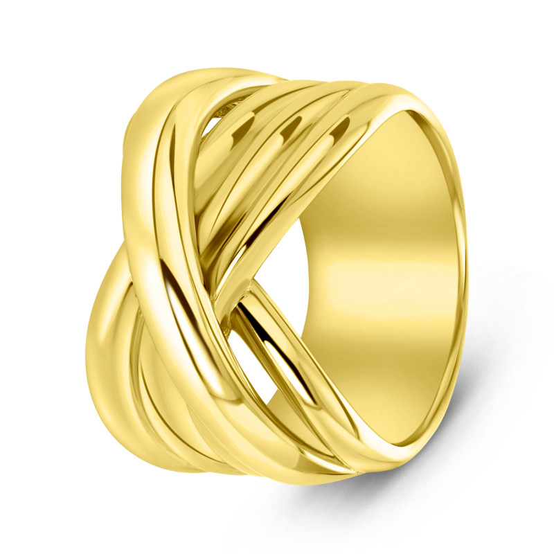 Gold plated ring 01.104.35