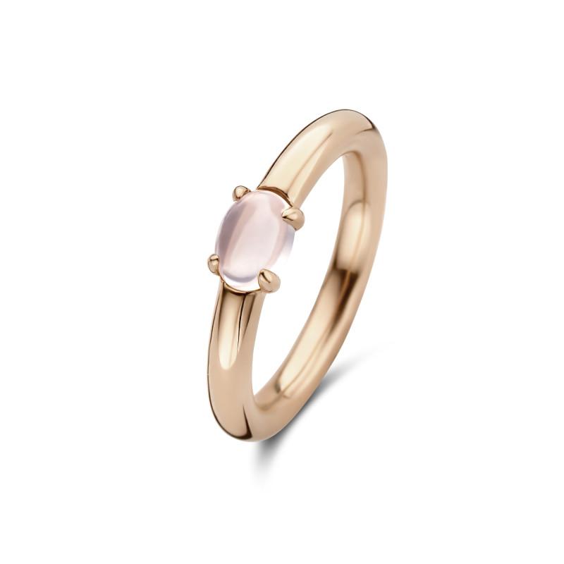 Rosé ring met rozenkwarts 01.357RQ.45