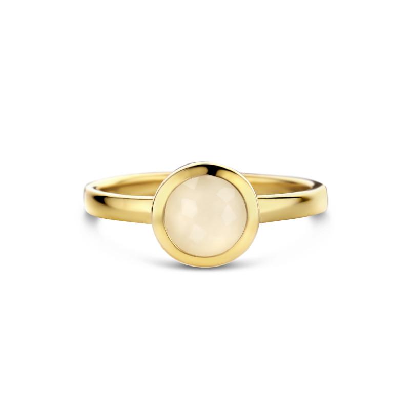 Gold plated ring met maansteen 01.443M.35