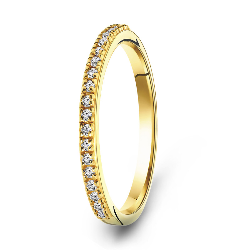Goldplated ring 01.979Z.35