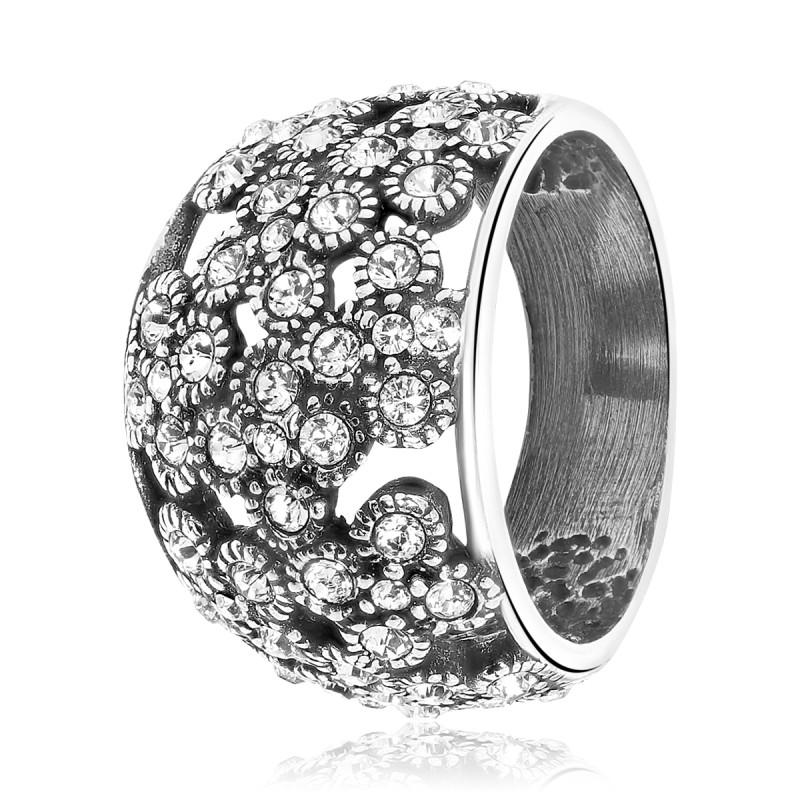 Zilveren ring 015589