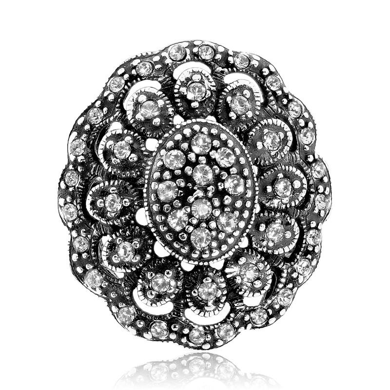 Zilveren ring 015591
