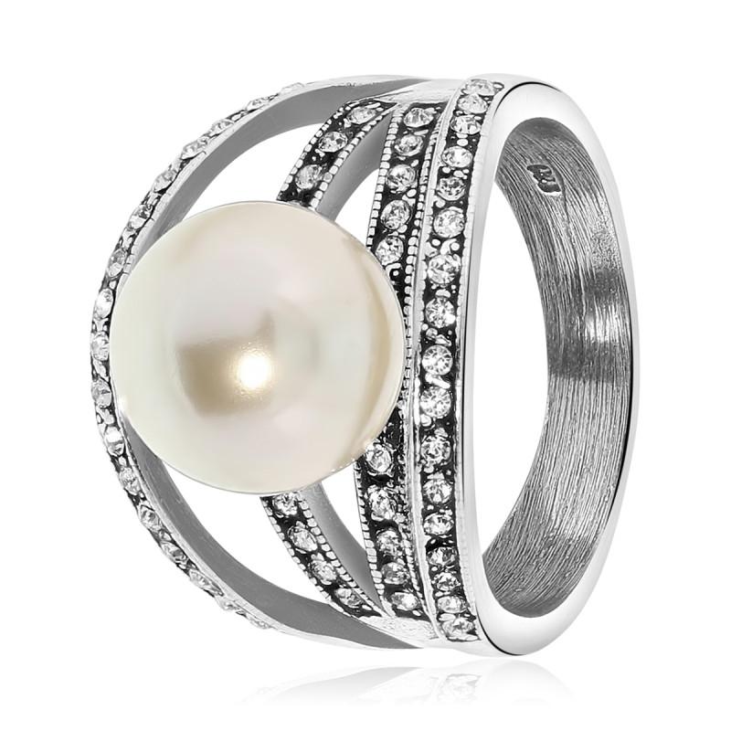 Zilveren ring 015596