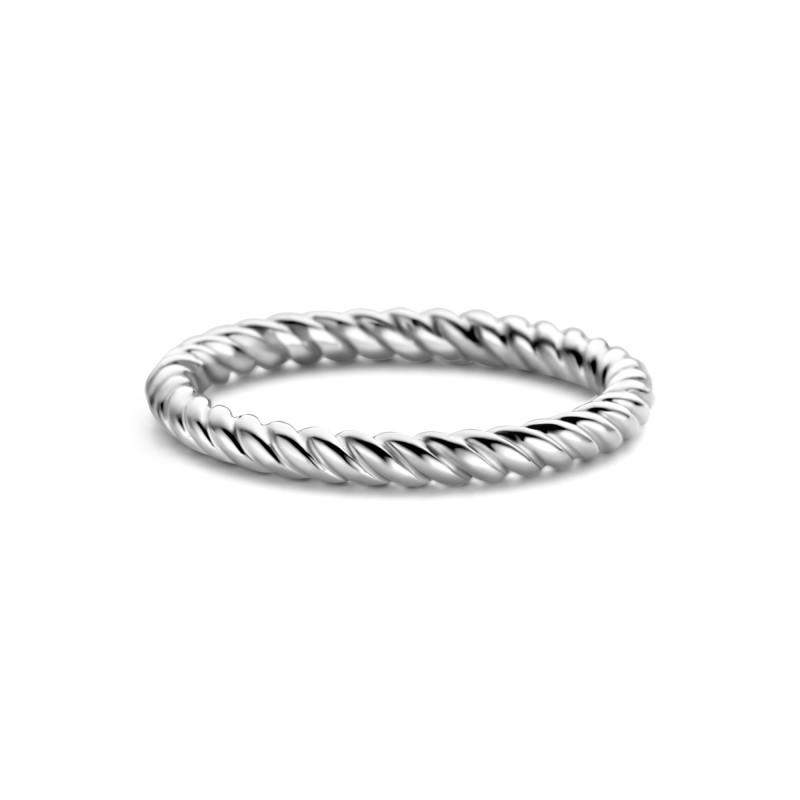 Zilveren ring met een dikte van 2mm