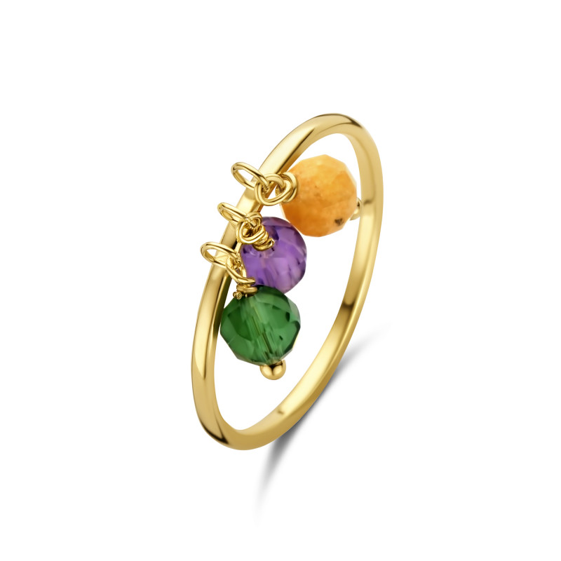 Geelgouden ring AG083-671