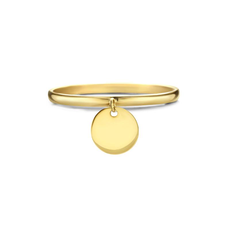 Geelgouden ring AG083-674