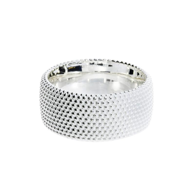 Zilveren ring met parel 210190-E