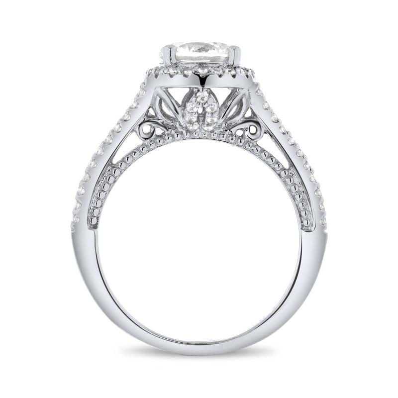 Zilveren ring met zirkonia MR1733R