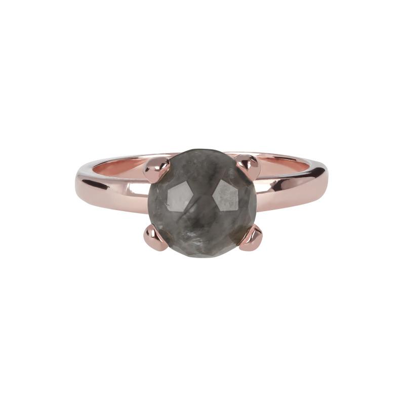 Rosé ring met kwarts WSBZ00949